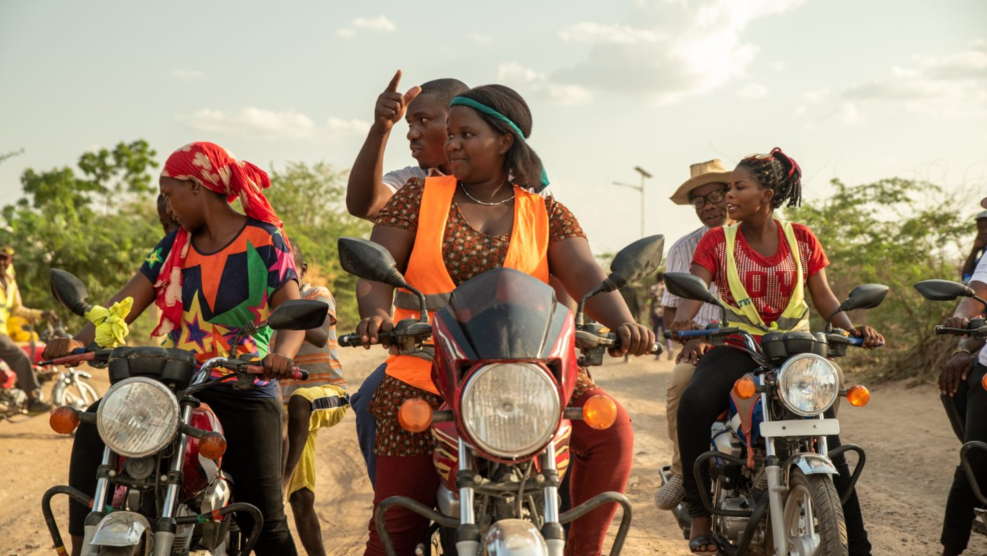 Electric motorbike gives women in rural Zimbabwe a path out of ...