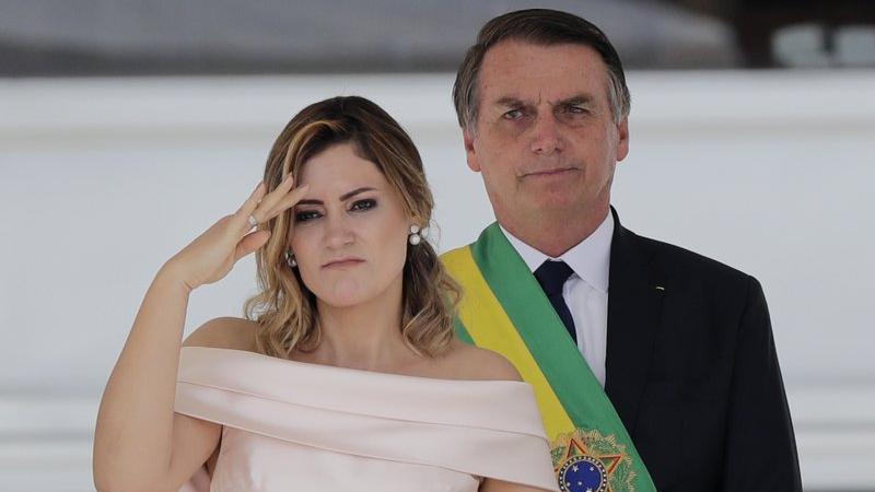 COVID-19 Brazil: President Bolsonaro's wife, minister test ...